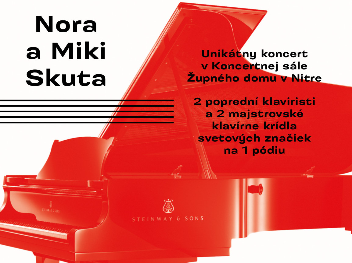 c160b846c Nora a Miki Skuta - Kam v meste   moja Nitra